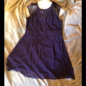 City Chic Dark Purple Dress